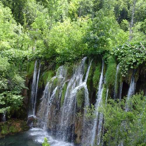 Водопады Плитвицких озер.