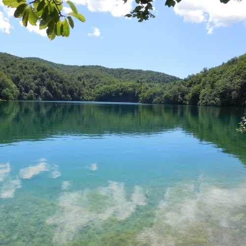 Самое большое из Плитвицких озер — Козяк (или Козье).