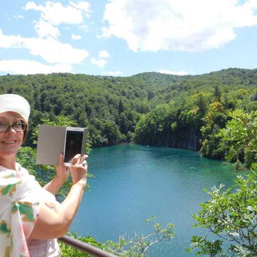 Национальный заповедник Хорватии Плитвицкие озера.