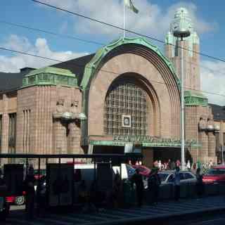 Хельсинки, ЖД вокзал