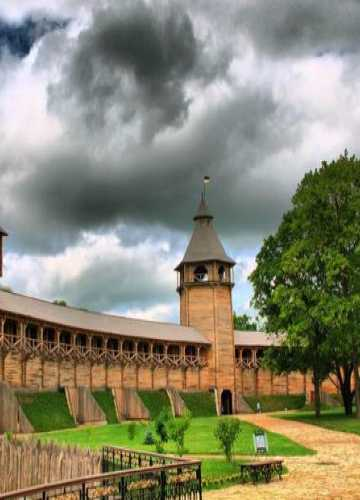 Citadel Baturyn Fortress, Ukraine