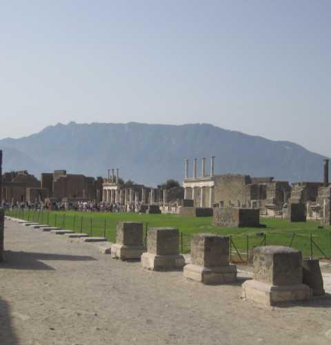 Помпеи, лето 2008 года