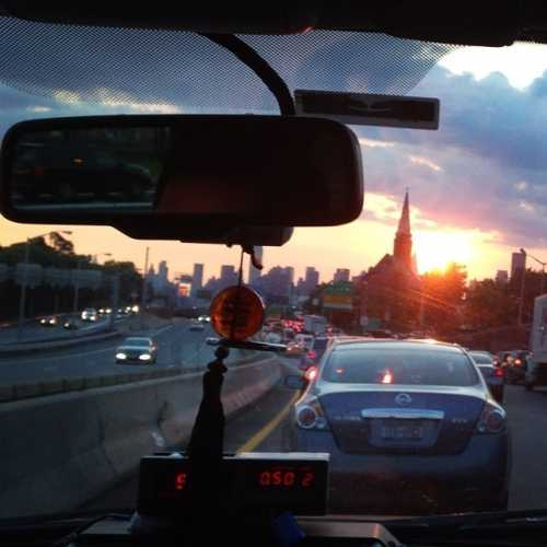в такси до Манхэттена, 2014