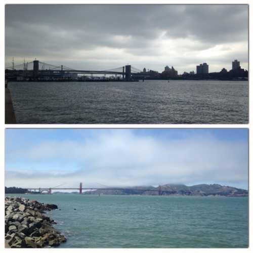 Два моста, два океана — Нью-Йорк, Сан-Франциско, 2014