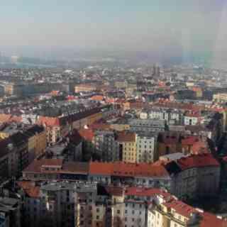 Панорамный вид Праги