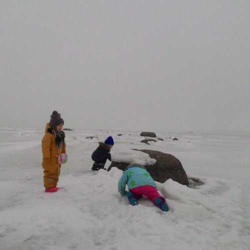 Полярники исследуют бескрайний лед