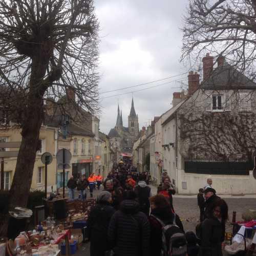 Брокант в маленьком французском городке
