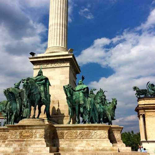 Heroes Square Budapest, Hungary