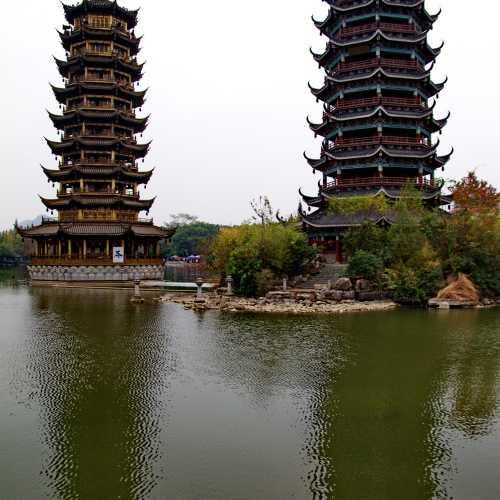 Парк у озера Шанху, China