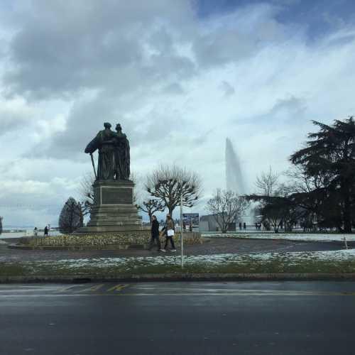 Фонтан Же-До (Женевский фонтан), Switzerland