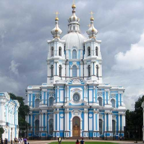 Smolny cathedral, Russia