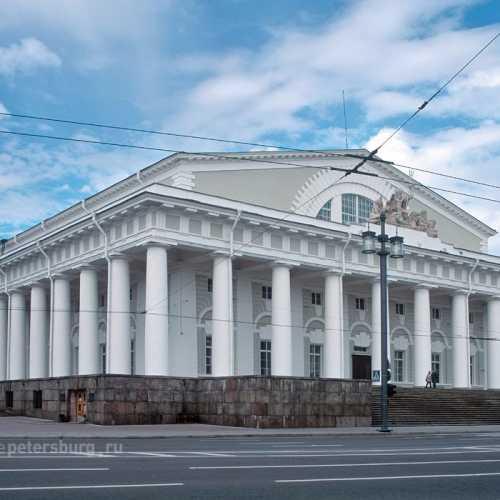 Old Saint-Petersburg Stock Exchange, Russia
