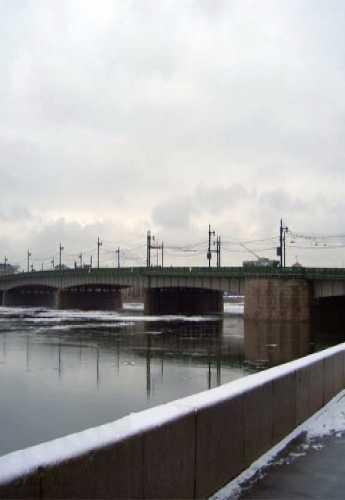 Liteyny bridge, Russia