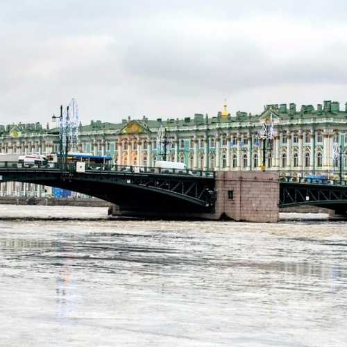 Palace Bridge, Russia