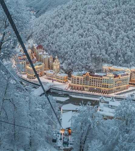 Олимпийская деревня в курорте