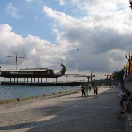 Набережная Ялты, Crimea