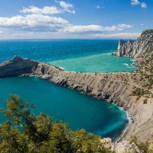 Мыс Капчик, Crimea
