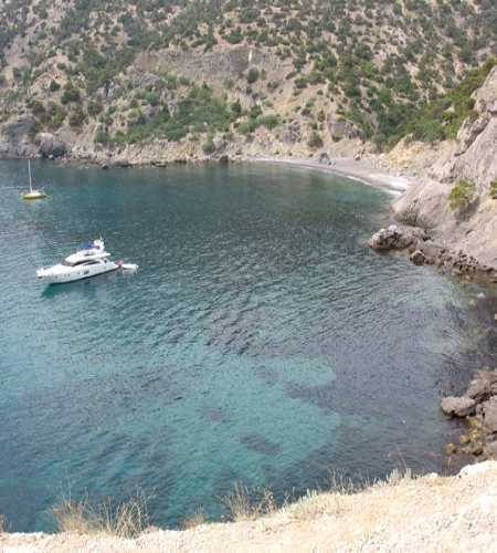 Czar Beach, Crimea