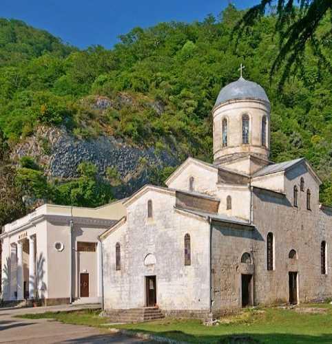 Храм Симона Кананита, Abhazia