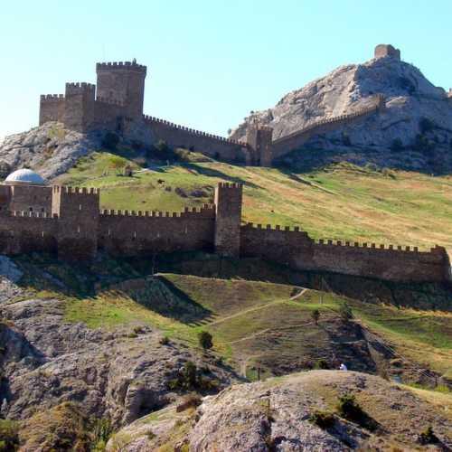 Genoese Fortress, Crimea