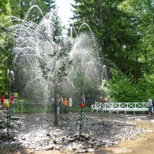 Oak Fountain, Russia