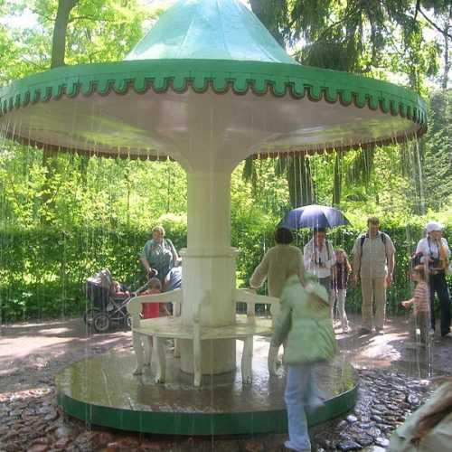 Umbrella Fountain, Russia