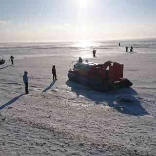 Катер на воздушной подушке, Байкал