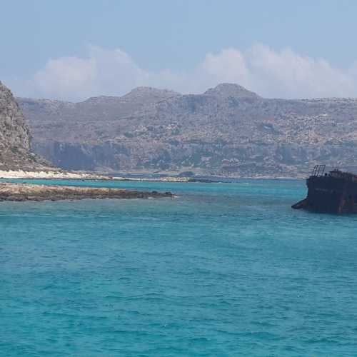 Останки корабля около острова Грамвус