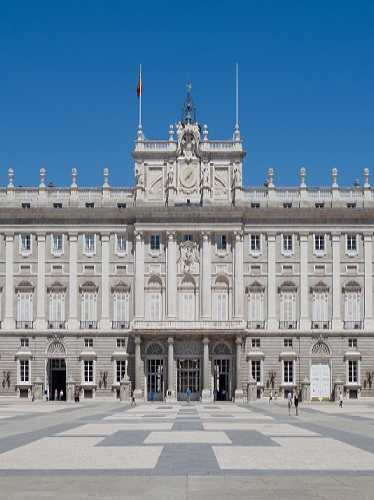 Королевский дворец, Spain