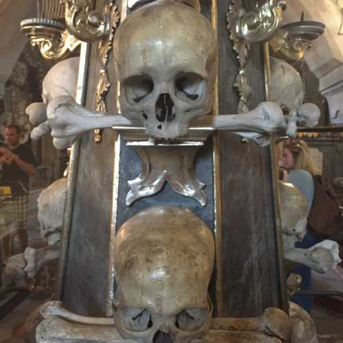 Кладбищенский костёл Всех Святых с костехранилищем в Седлеце, Чехия