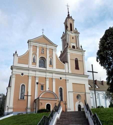 Касцёл Адшукання Святога Крыжа і кляштар бэрнардынаў, Belarus