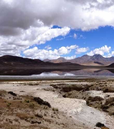 Озеро Drolung (Lodu Loney, Cuochuolong), China