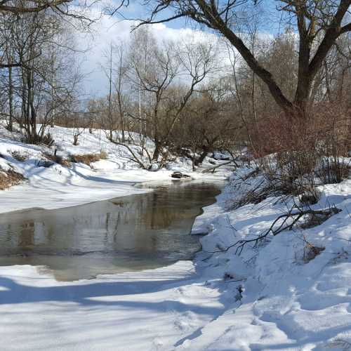 Речка Липенка зимой
