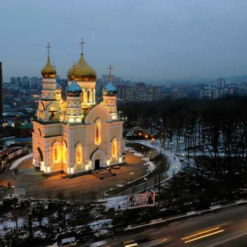 Pokrov Cathedral Vladivostok, Russia
