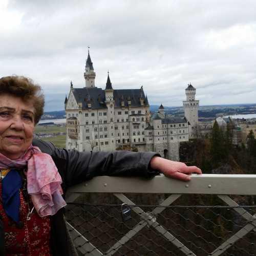 Бавария замок Норштейн март2018г
