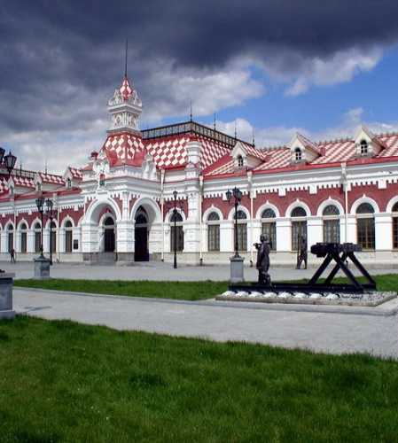 Railway museum and station, Russia