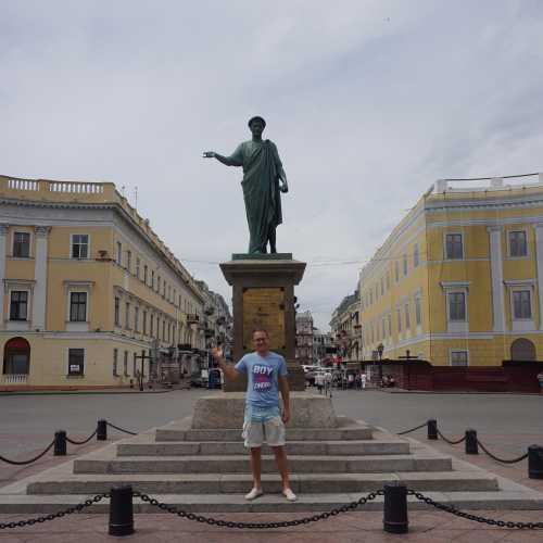 Statue of the Duc de Richelieu, Ukraine