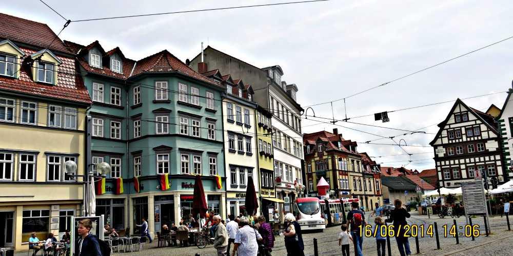 Ерфурт — серце Німеччини