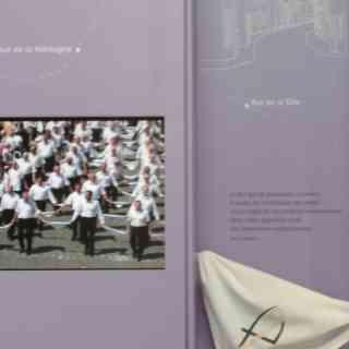 С именем святого Втллиброрда. основателя бенедиктинского аббатства в Эхтернахе, связана многовековая традиция танцевальной процессии паломников, занесенная в книгу ЮНЕСКО.