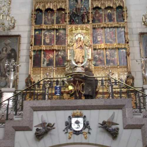 Алтарь, посвященный святой Марии Альмуденской