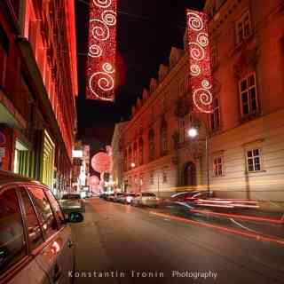 Night life of Vienna