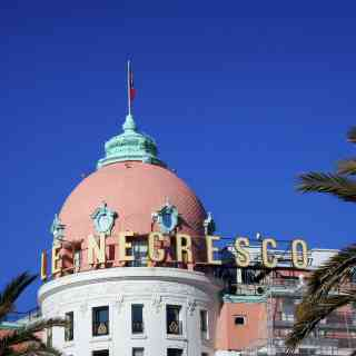 Hotel Negresco is a famous and luxury hotel located at the famous Promenade des Anglais in Nice, France.
