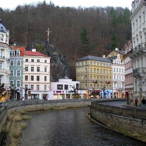 The Czech resort Karlovy Vary