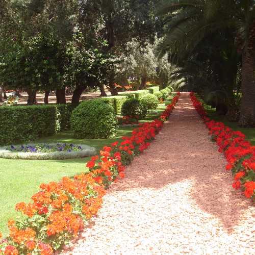 бахайские сады, Israel