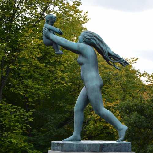 Парк скульптур Вигеланда, Норвегия
