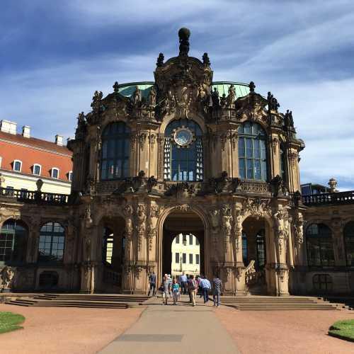 Zvinger, Dresden