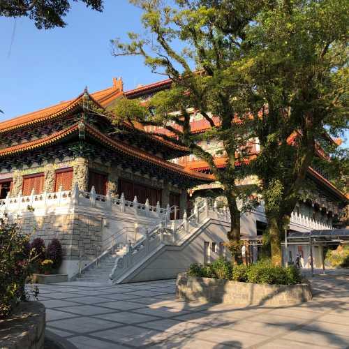 Monastery near Tian Tan Buddha