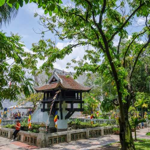 One Pillar Pagoda, Vietnam