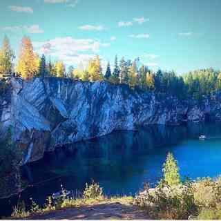 Карелия, мраморный каньон