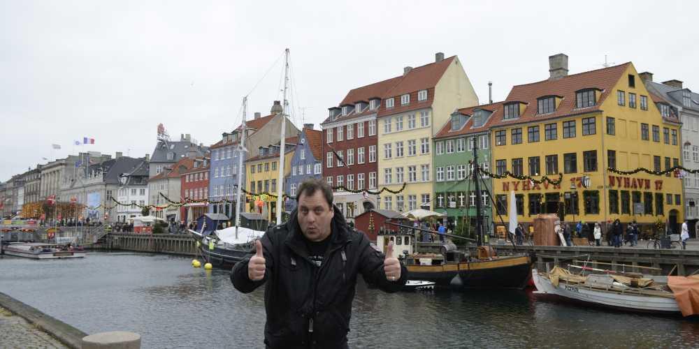 Копенгаген. Канал Нюхавн.
